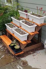 Image Result For Diy Make 3 Tiered Plant Shelf Using Step Stringer