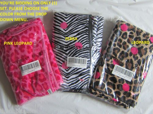 Only 1 ne w victoria secret pink dog leopard zebra swim for Victoria secret bathroom ideas