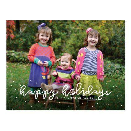 happy holidays photo postcard pinterest photo postcards
