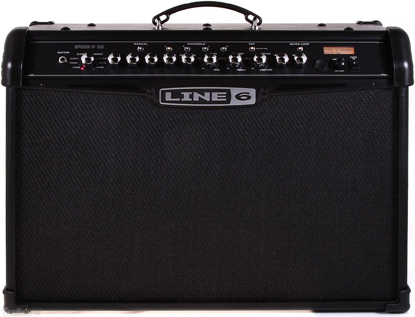 Line 6 Spider Iv 120 Combo Amplifier Bathroom Scale Amp