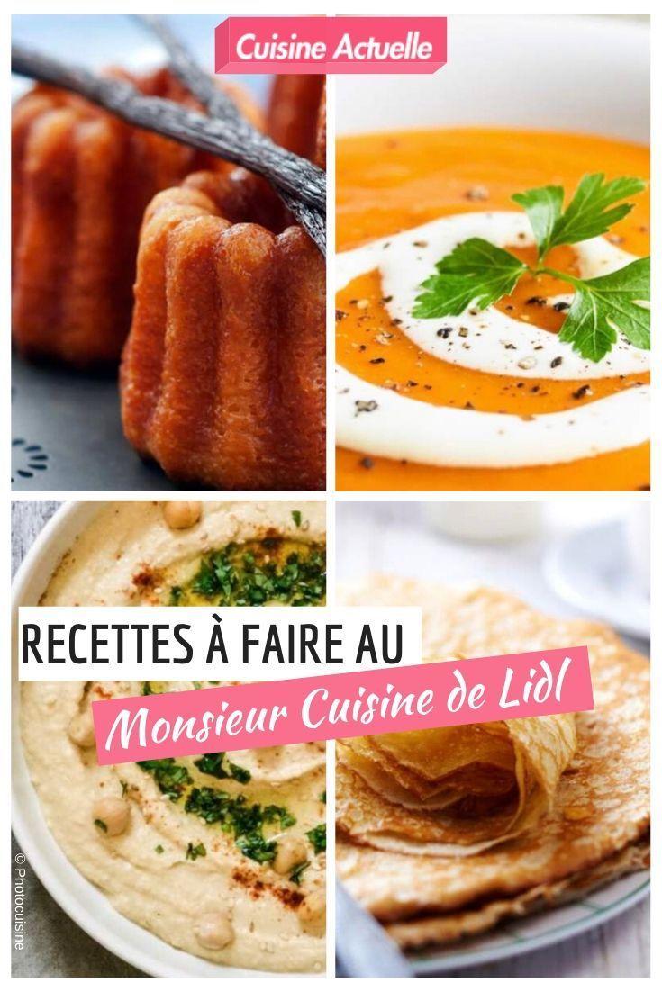 30 recettes à faire au Monsieur Cuisine de Lidl