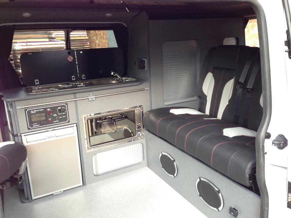 VW Volkswagen T4 T5 Camper Day Van Surf Conversion Furniture Bed And Units
