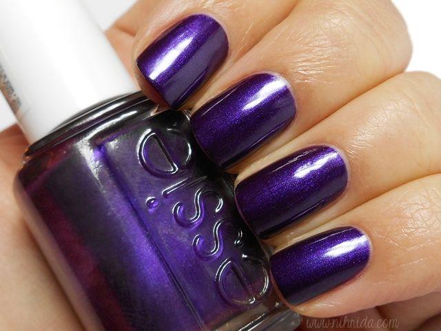 Her Universe purple nail polish! Essie - Sexy Divide   Fashionable ...