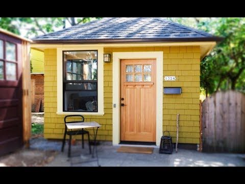Old Garage Converted Into Tiny Cottage | Small House Design Ideas   YouTube