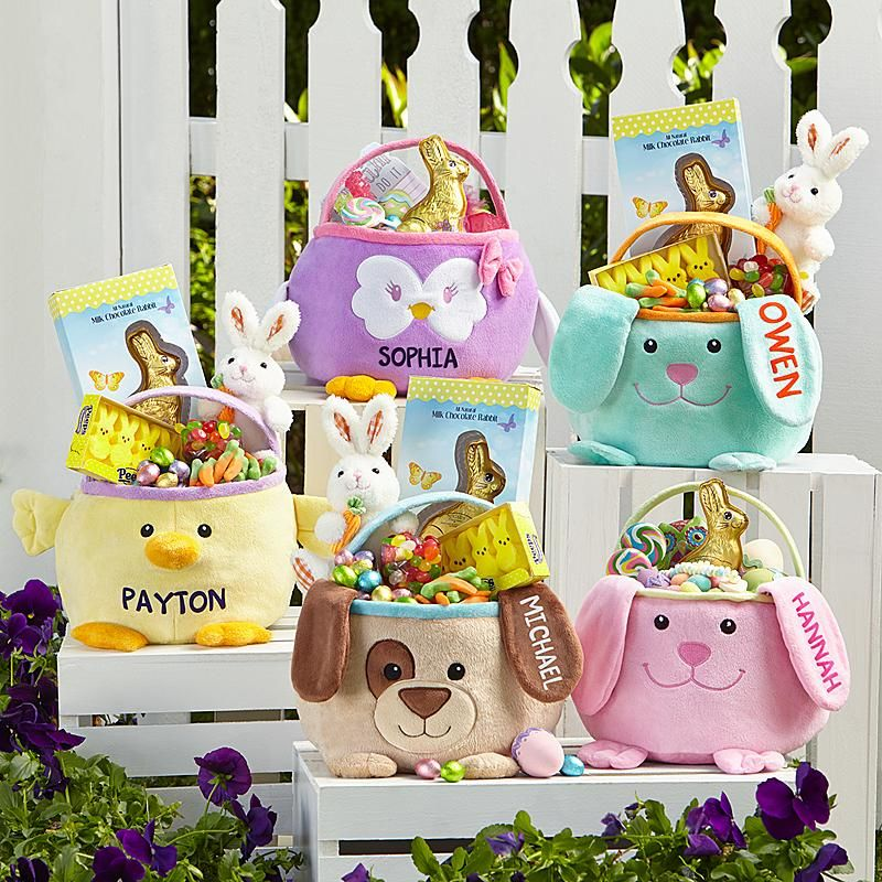 Furry friends easter baskets and easter need a unique gift send furry friend easter basket and other personalized gifts at personal creations negle Choice Image