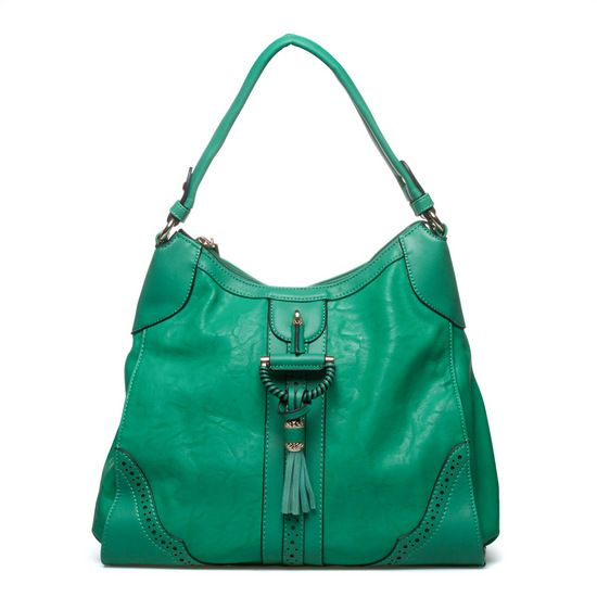 Orbost- Faux-leather shoulder bag with gold hardware