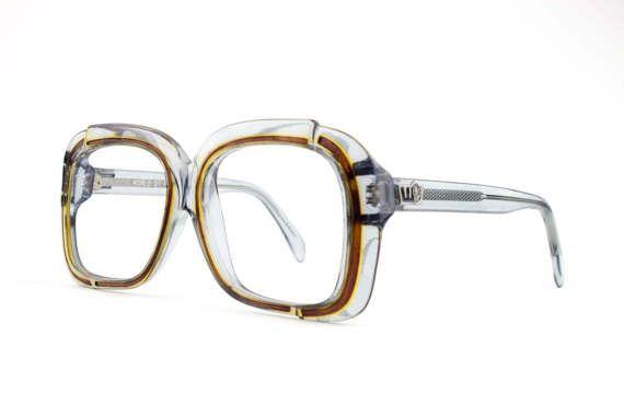 Vintage 60er Jahre Brillen Klare Glaser Grau Ubergrosse Etsy Pink Eyeglasses Eyeglasses Vintage Glasses