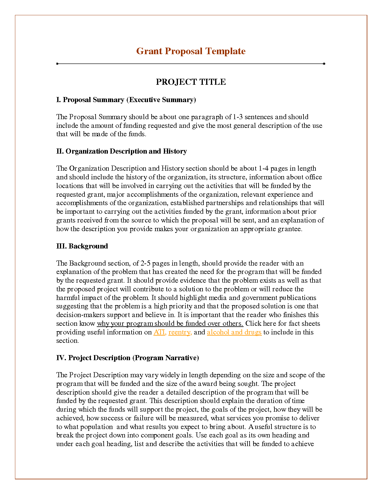 Image Result For Project Proposal Sample For Students  Read It