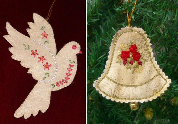 12 FREE Christmas Embroidery Patterns You\'ll Love