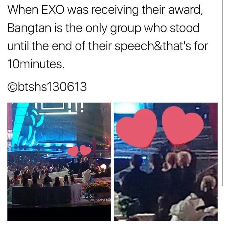 when will the fan wars end smh << idk but exo-L's & army's should be friends