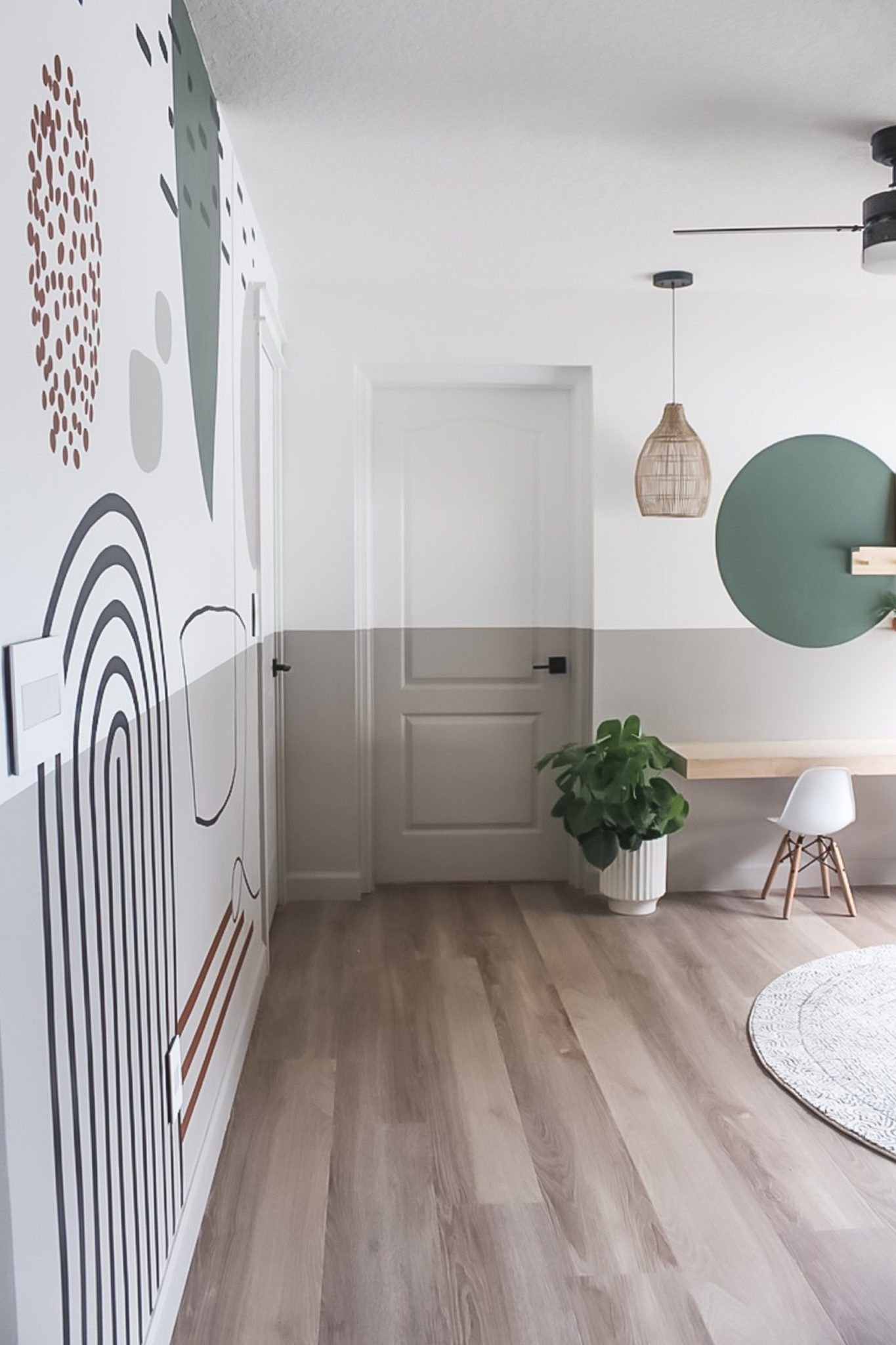 Playroom Makeover with a Fresh Set of Paint Colors