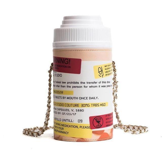 ed4b68e070 Pill Bottle Purse