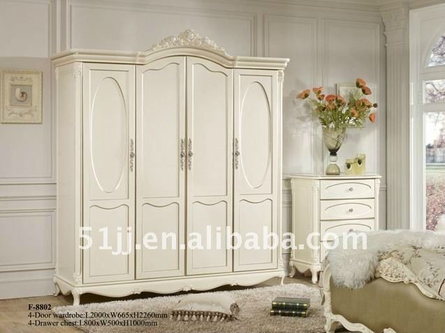 Pretty For When You Need Closet Space French Style Bedroom