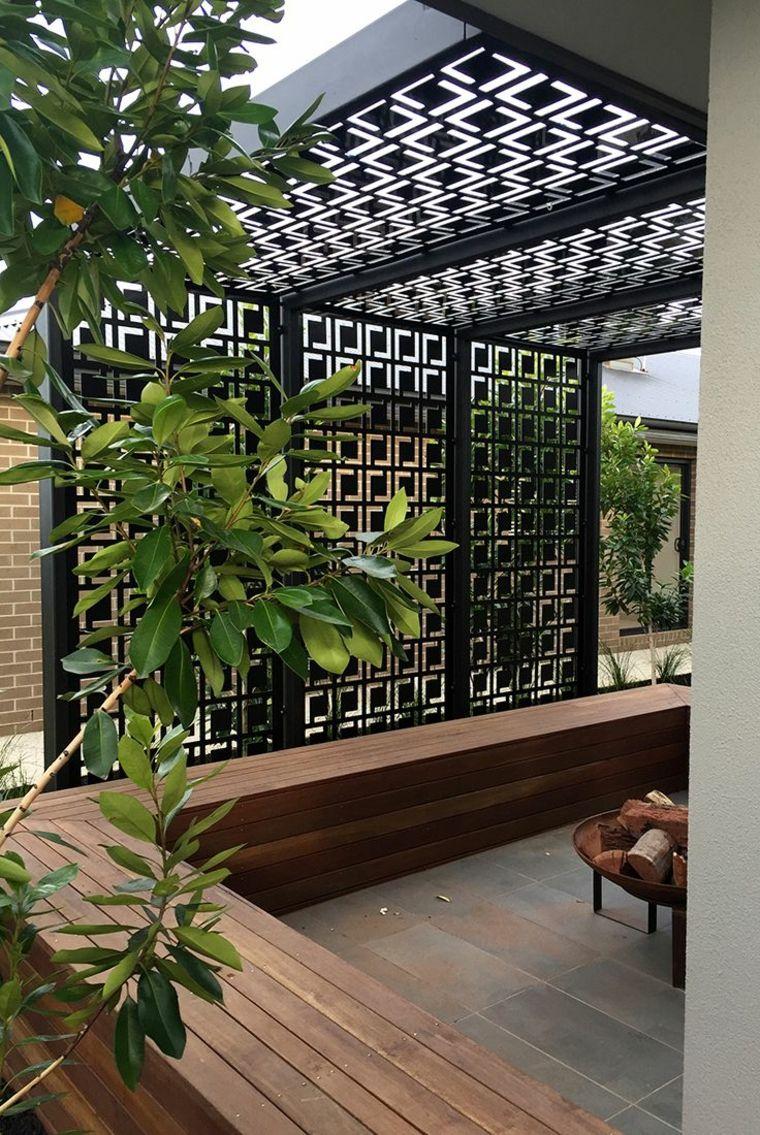 Photo of Pérgolas diseño moderno para jardines y terrazas –