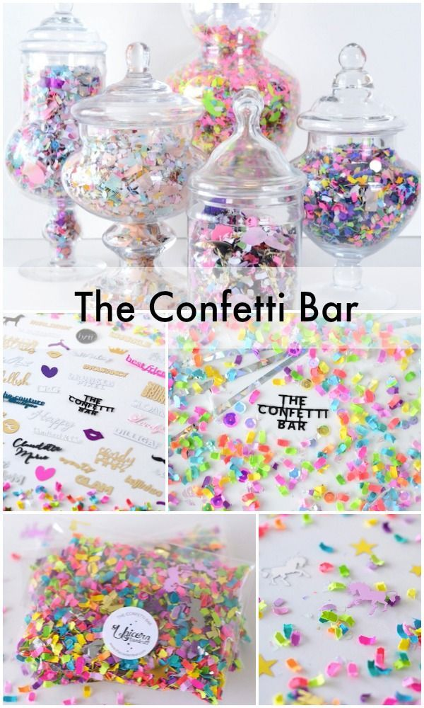 The Confetti Bar: an interview with the sparkly genius behind it