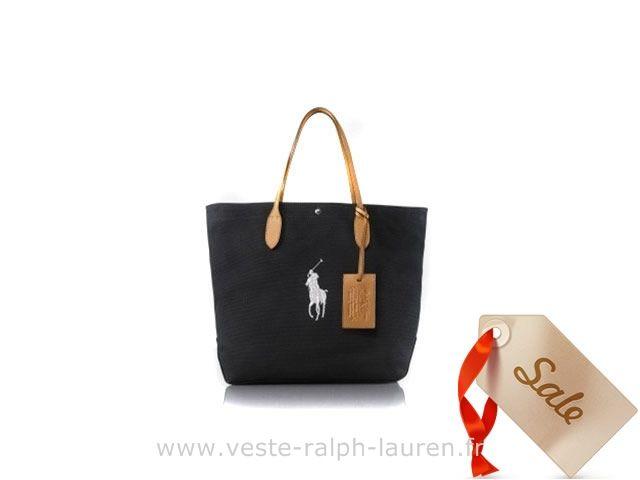 boutique Ralph Lauren sac mode sacoche loisir france black white Sac Homme Ralph  Lauren 14431365959