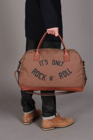 It S Only Rock N Roll But I Like Tote Great Carry On For Travel Or Gym Bag