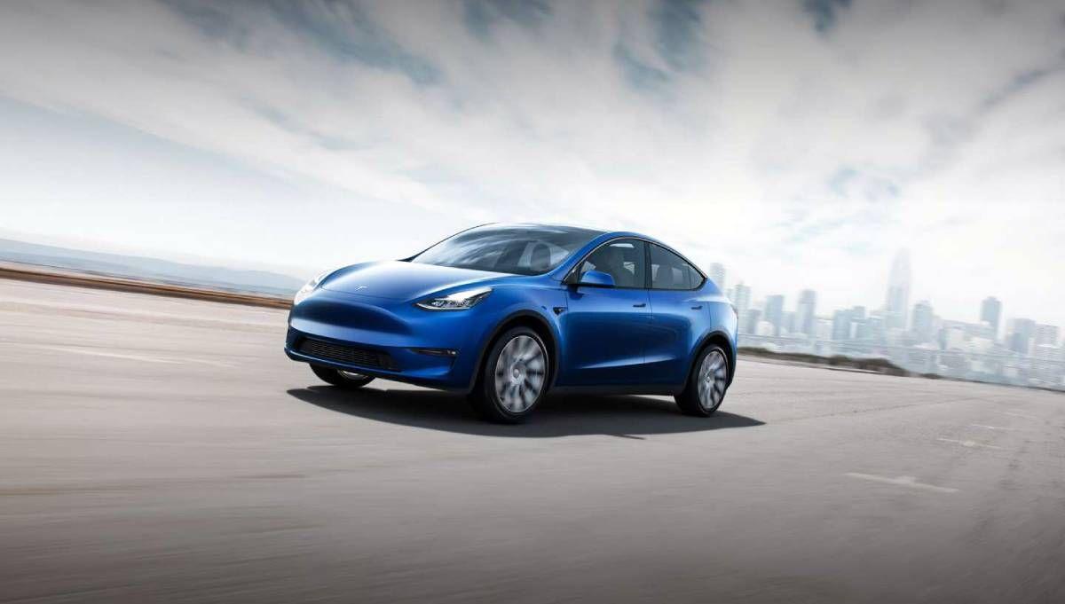 Tesla Model Y تسلا موديل واي مواصفات وسعر سيارة تسلا الكهربائية الجديدة صدى التقنية Tesla Model Tesla Car Tesla