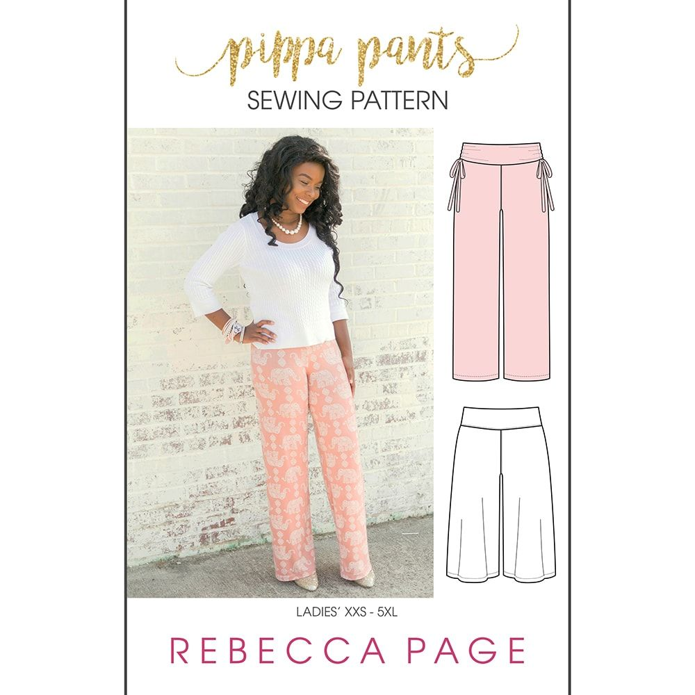 Pin Von Melanie Klötzke Lehmann Auf Küchen: Pippa – Ladies' Comfy Pants Sewing Pattern