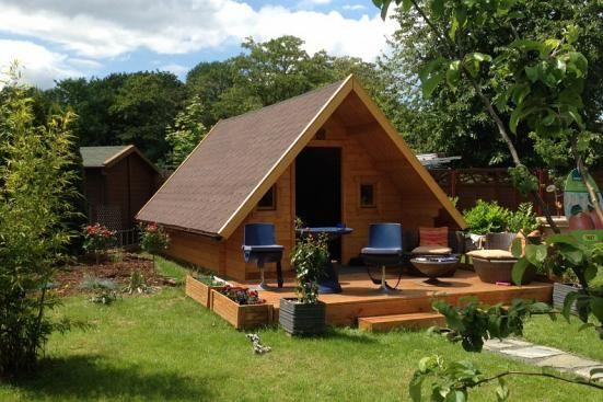 Campinghouse 44 ISO Haus und garten, Gartenhaus gmbh und