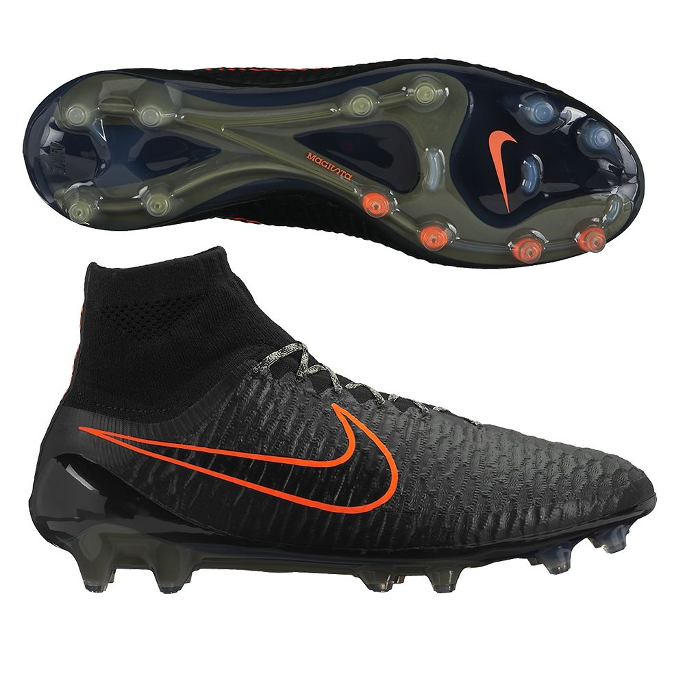 Nike Soccer Men Black/Rough Green/Black Model:934