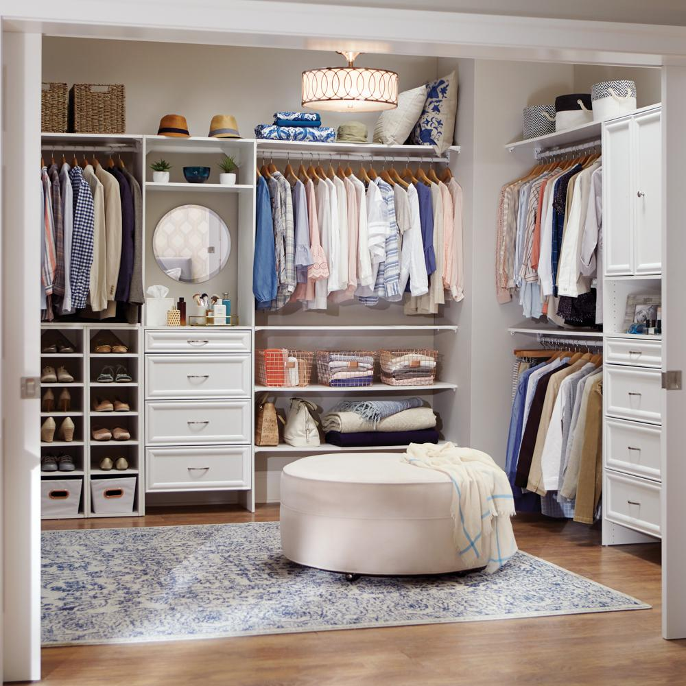 Closetmaid Selectives 23 5 In X 5 In White Decorative Wood