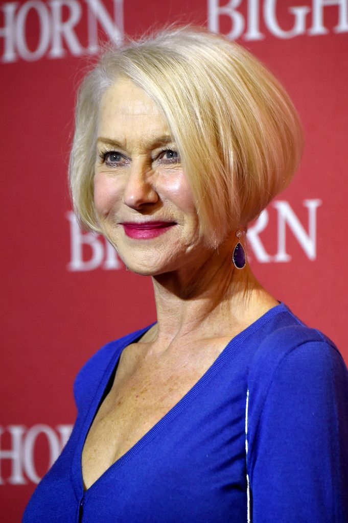 Helen Mirren Graduated Bob Helen Mirren Hair Helen Mirren Short Hair Styles