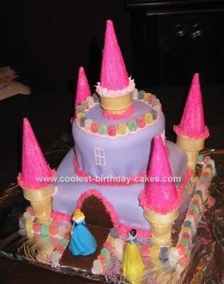 Knocked Up Birthday Cake Castle