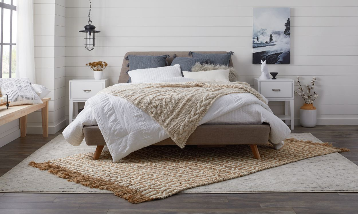 How to Pick the Best Rug Size and Placement Bedroom rug