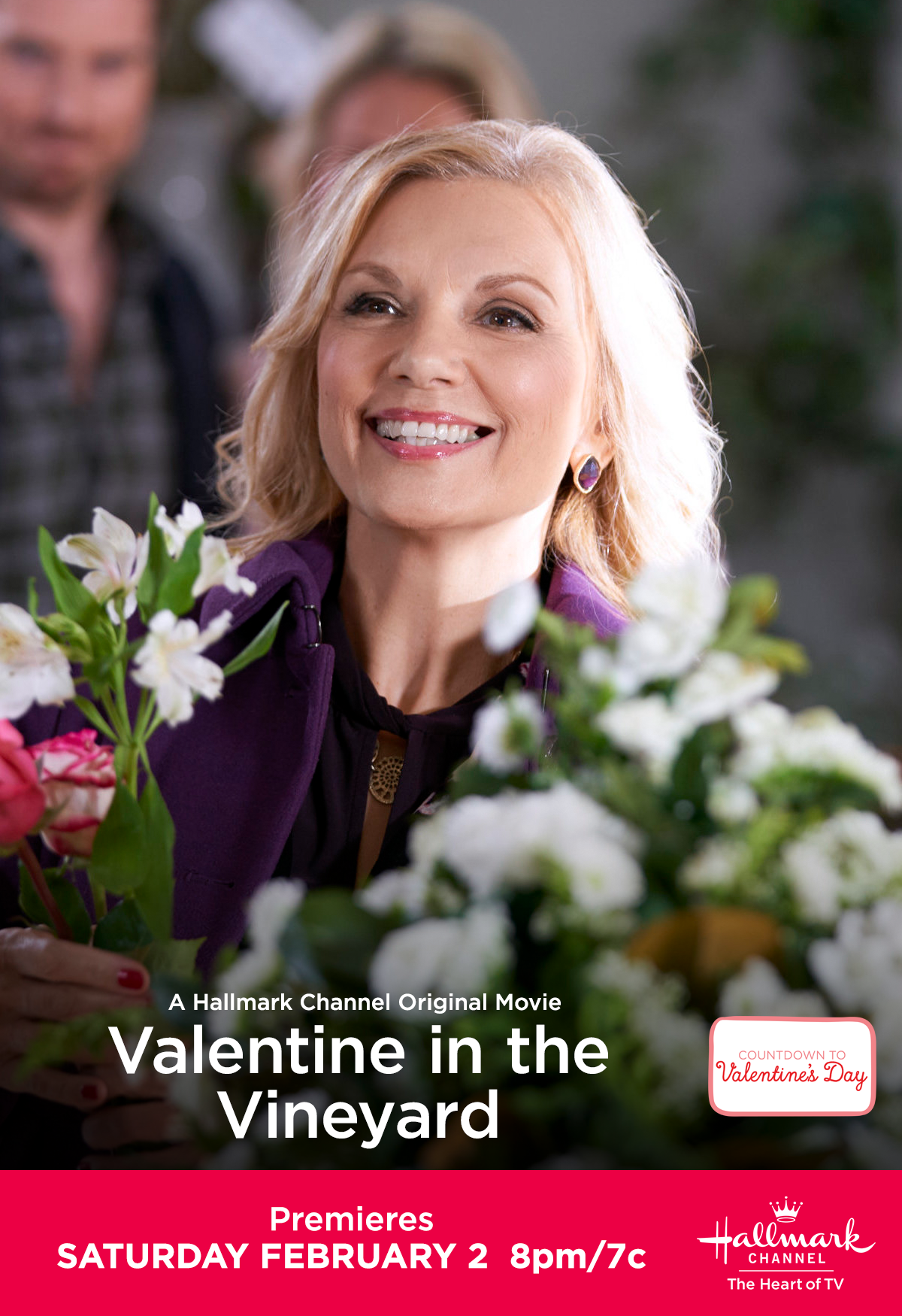 Teryl Rothery Looks Radiant As She Joins The Cast Of Valentine In The Vineyard Premiering February Hallmark Channel Teryl Rothery Hallmark Christmas Movies