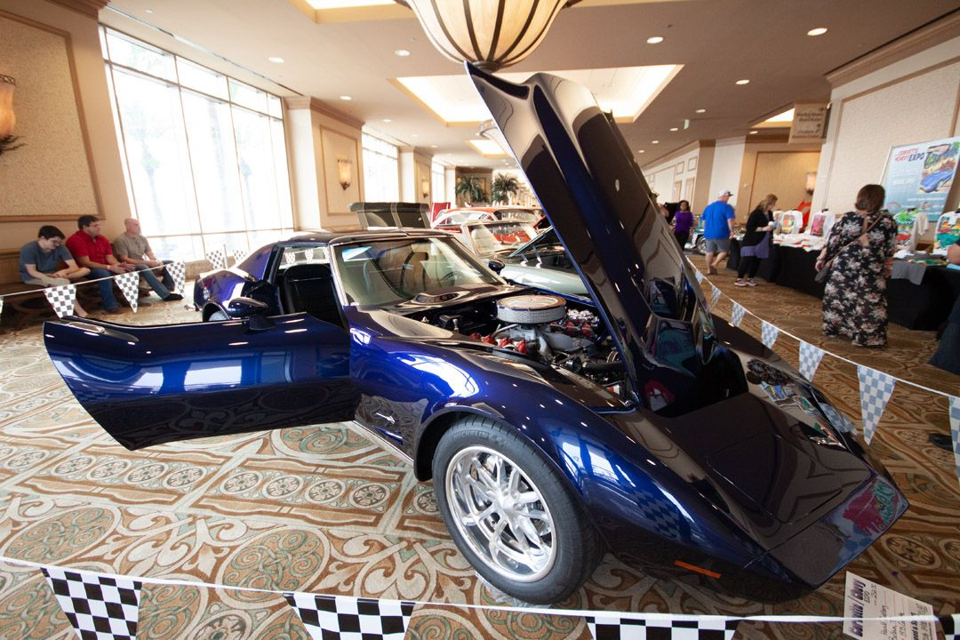 Corvette Chevy Expo Is Held At The Galveston Island Convention
