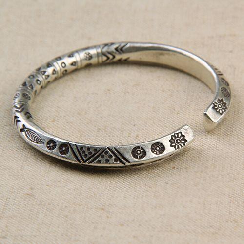 Fine Silver Handmade Bold Cuff Bracelet Thai Silver In 2018