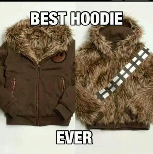 GEEKstuffs Photos Chewbacca Star And Starwars - Hoodie will turn you into chewbacca from star wars