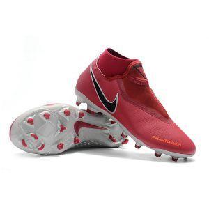 Nike Phantom VSN Academy DF FG MG Team Red Metallic Dark Grey Bright Crimson 14bd2f6b8b