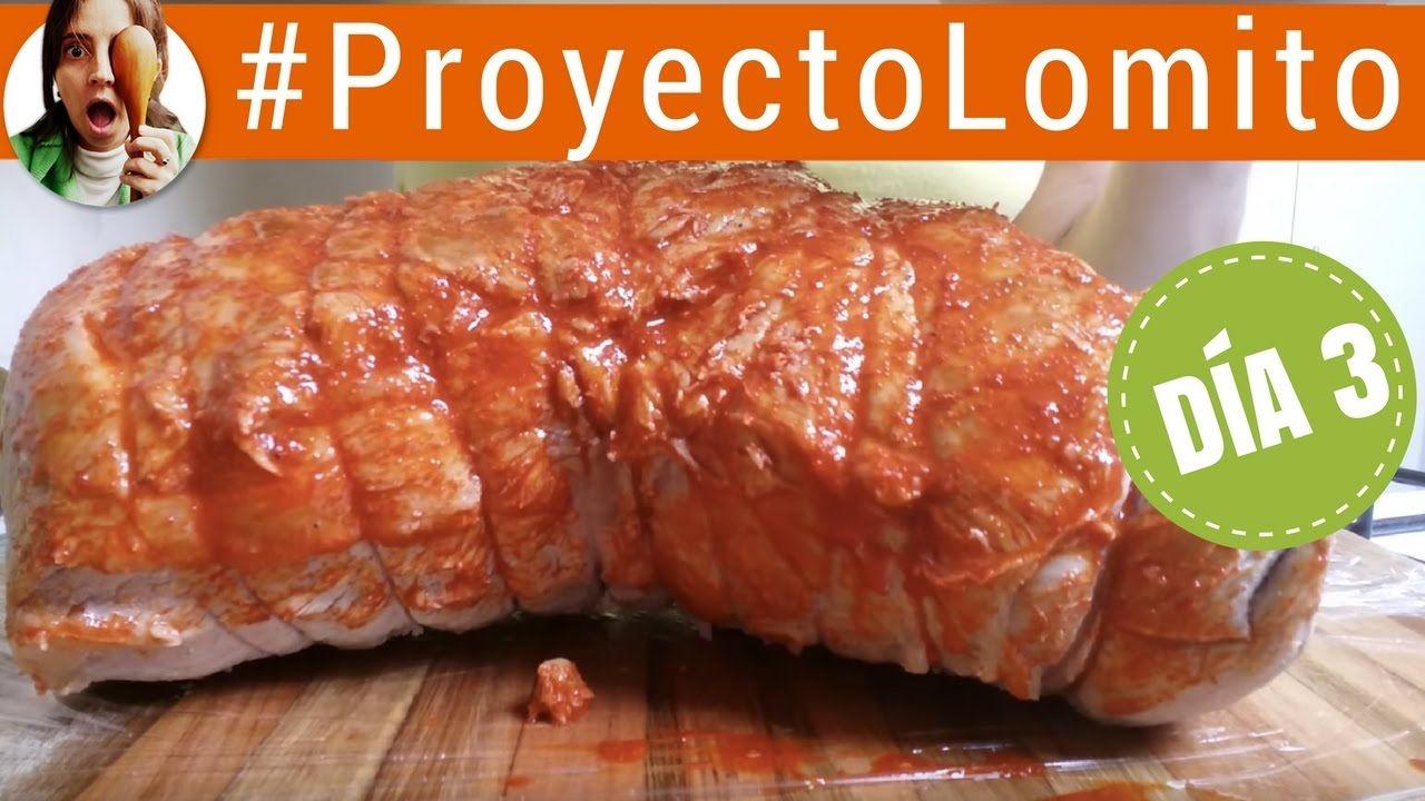 Cómo Hacer Lomo De Cerdo Curado Fiambre Casero Día 3 Proyecto Lomito Lomo De Cerdo Lomo De Cerdo Al Horno Recetas Con Embutidos