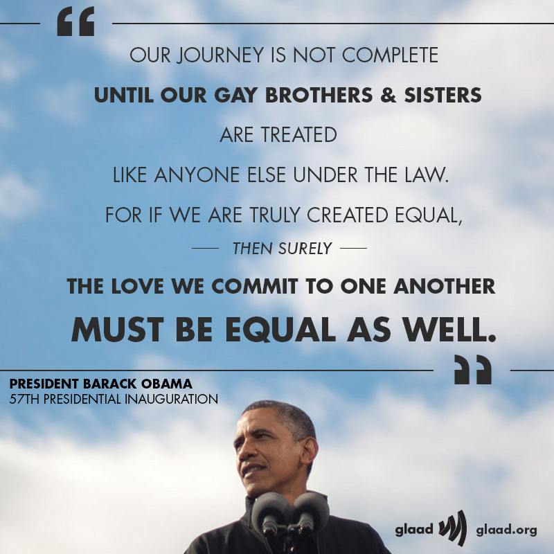 gay quotations Obama
