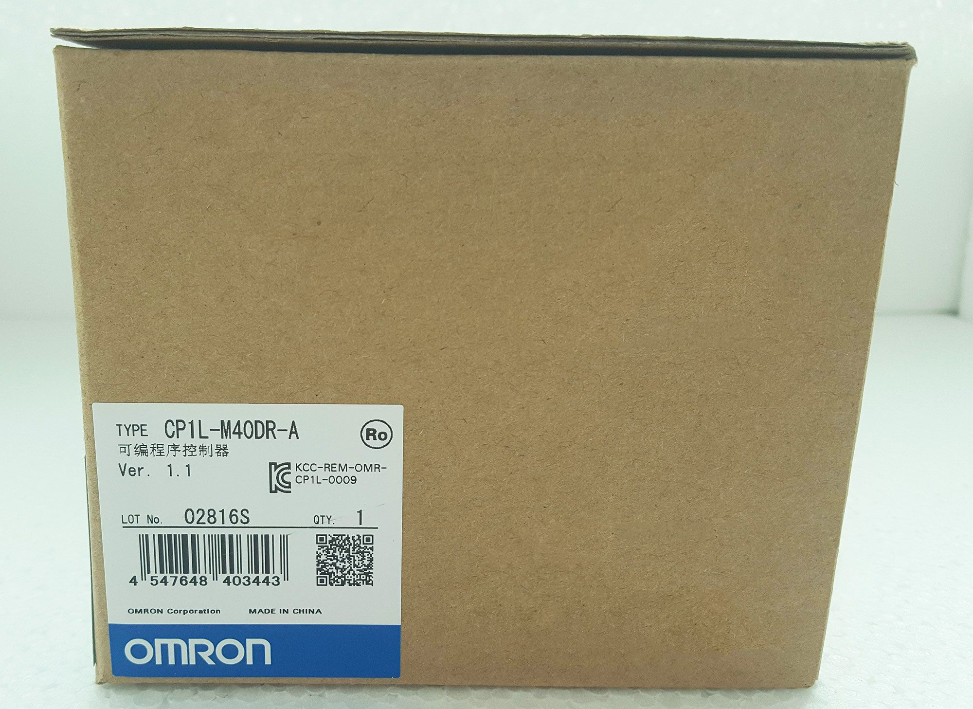 1PC NEW OMRON Programmable Controller PLC Module CQM1H-CPU51