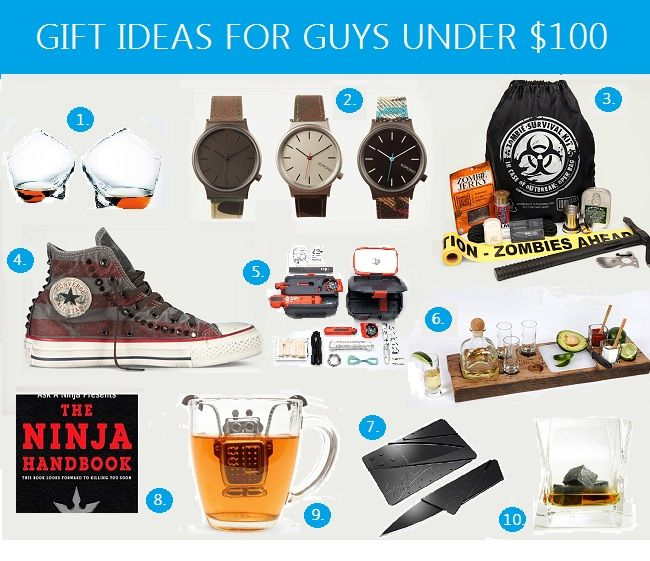 Anniversary gift ideas for your boyfriend or husband for under $100 - GIFT IDEAS FOR GUYS UNDER $100 Anniversary Gift Ideas That Guys