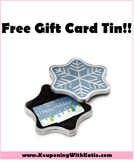 Photo of FREE Gift Card Tin With Amazon Gift Card Purchase; Arrives As Quickly As TOMORROW!!! – Kouponing With Katie