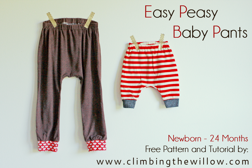 10 FREE Sewing Patterns for Handmade Holiday Gifts   Baby pants ...