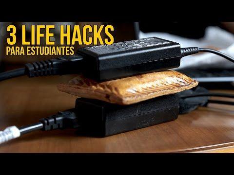3 Life Hacks para estudiantes - Tips para universitarios (Experimentos Caseros) - YouTube