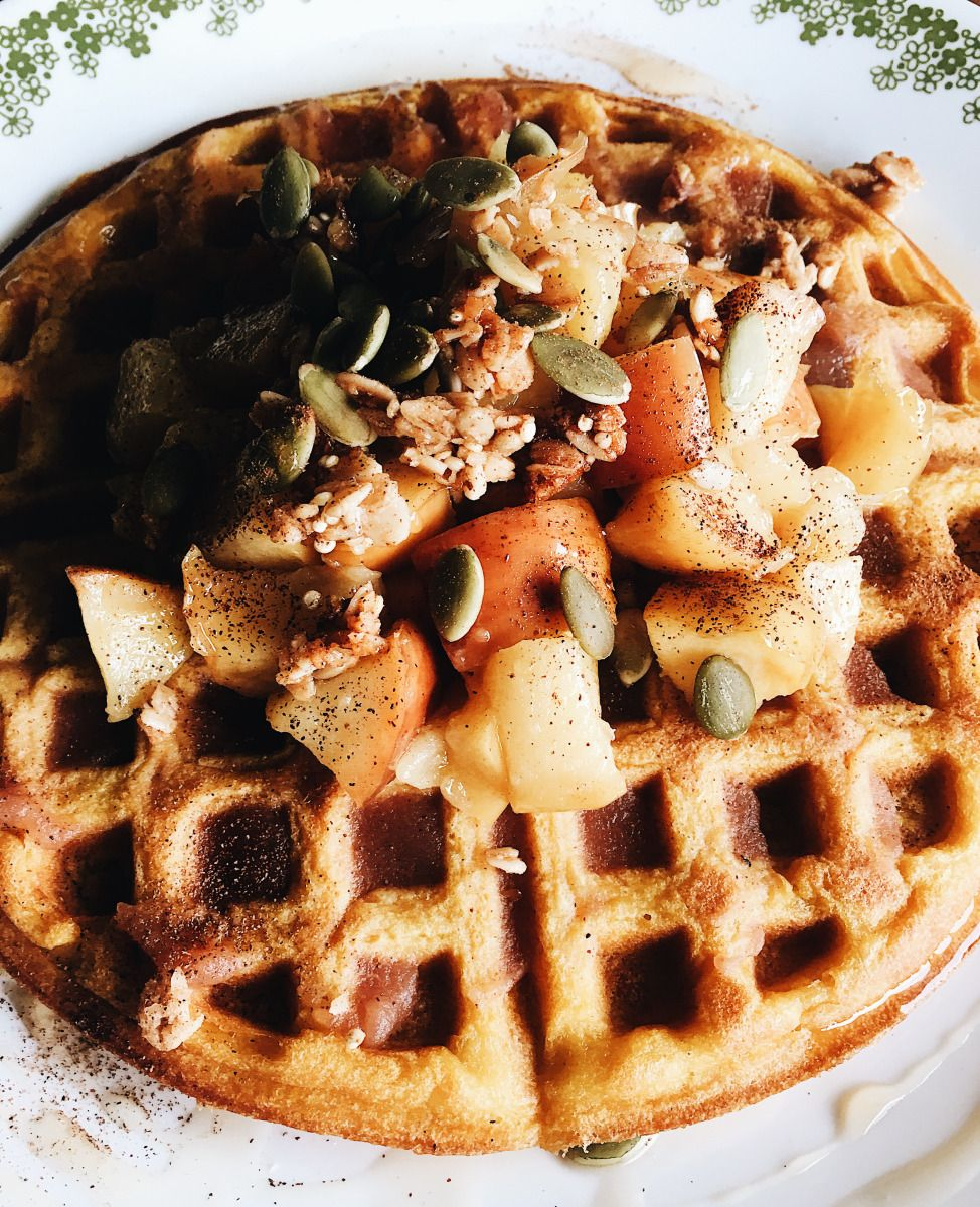 Fluffy Buttercup Winter Squash Waffles Waffles Waffle Recipes
