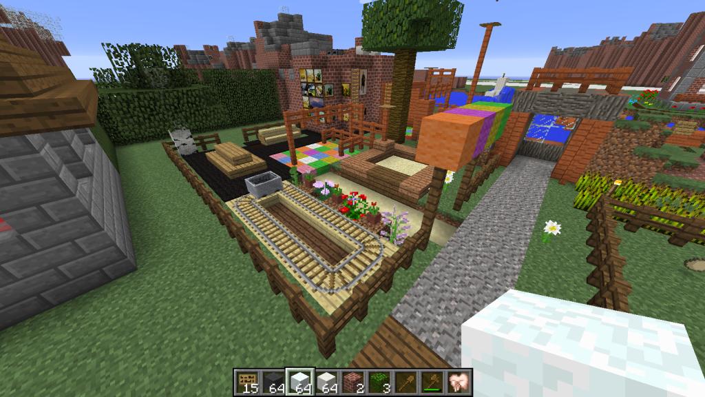 Minecraft playground yahoo image search results - Minecraft inneneinrichtung ...