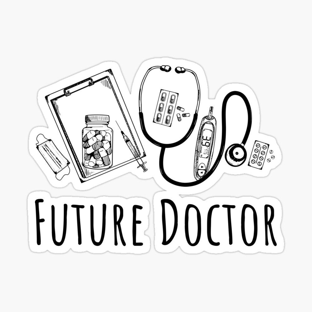 Future Doctor - Gifts For Medical Students Sticker