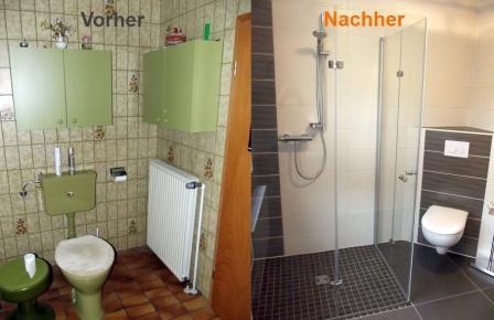 Die Badsanierung Der Toilettenbereich Vorher Mit Sichtbaren