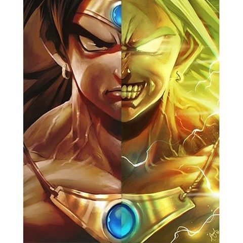 Bardock Broly Face To On A Poster Find This Pin And More Dbz