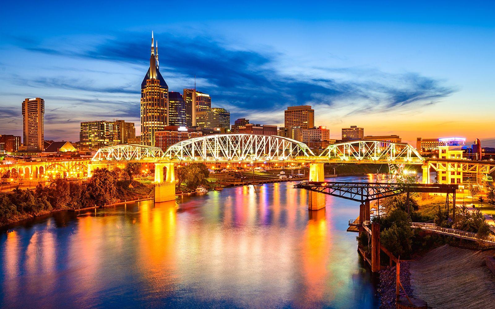 Nashville Back in the Spotlight Nashville skyline
