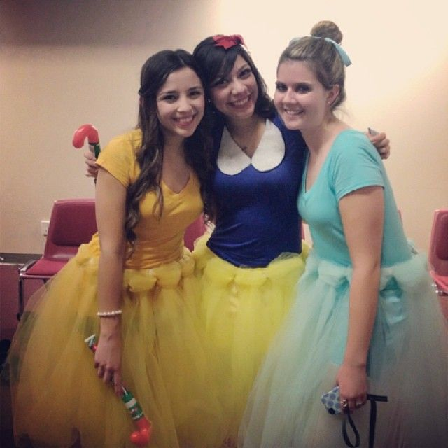 Disney Princess Costumes  w/ diy tutus!