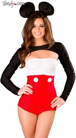 Sexy Tux  Ears Costume Mouse outfit, Mouse costume and Costumes - sexy halloween decorations