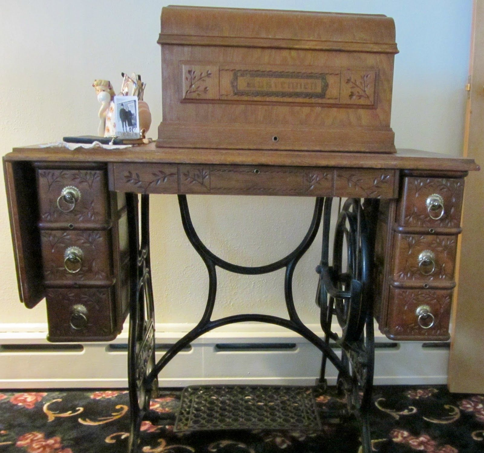 Minnesota Treadle Sewing Machine Value I Really Like This